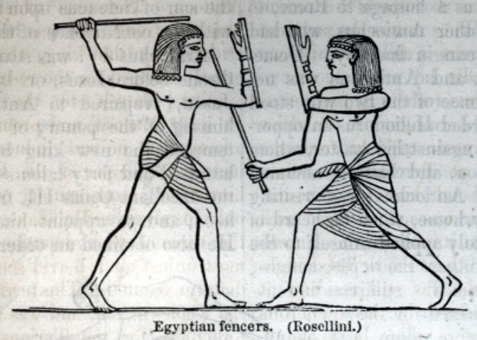 Egyptian fencers