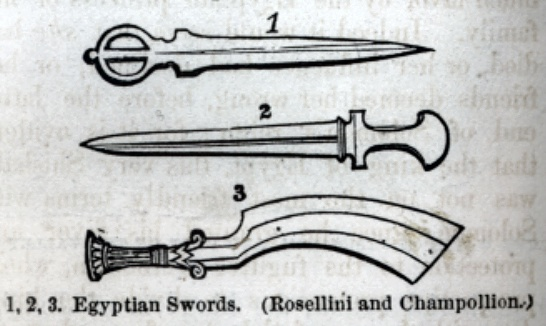 Egyptian Swords