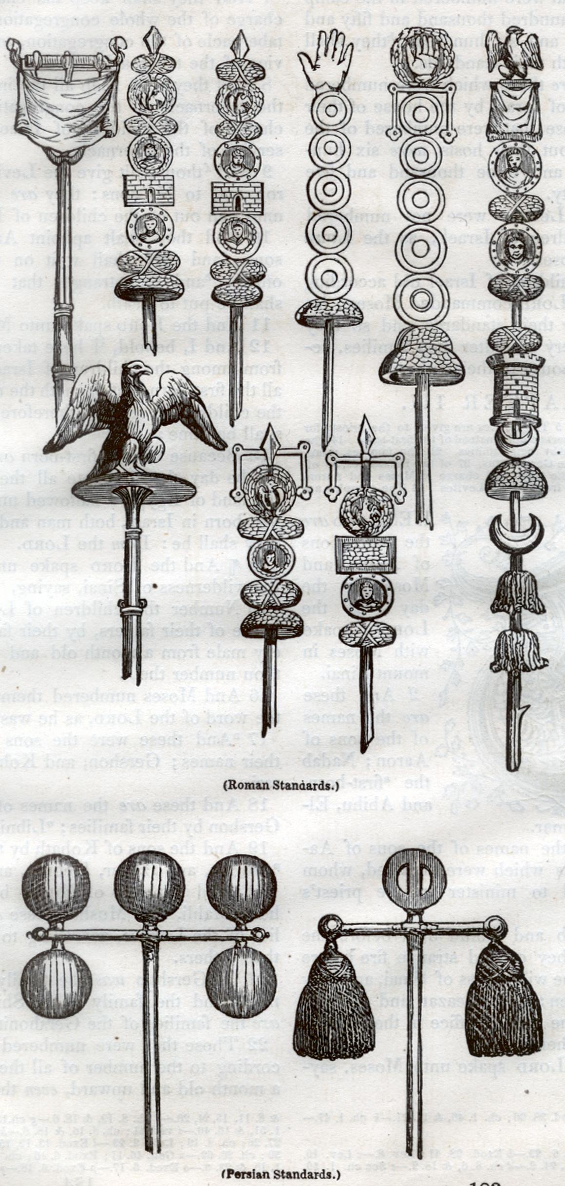 Roman Standards, Persian Standards