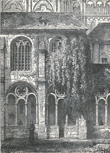 Cloister of Cathedral of Treves