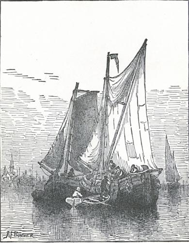 Dutch Boats on the Scheldt