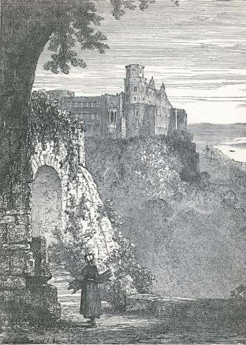 Heidelberg Castle From the Terrace