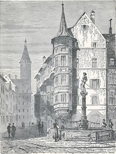 Market-Place at Schaffhausen