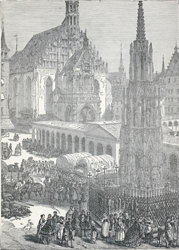 Nuremberg Market-Place