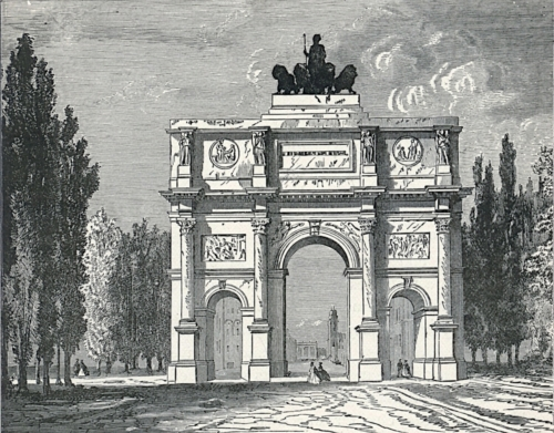 Triumphal Arch, Munich
