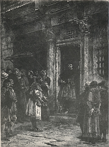 Van Artevelde at His Door